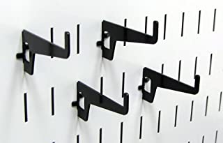 product image for Wall Control Pegboard 2-7/8in Long Reach Slotted Hook Pack - Slotted Metal Pegboard Hooks for Wall Control Pegboard and Slotted Tool Board – Black