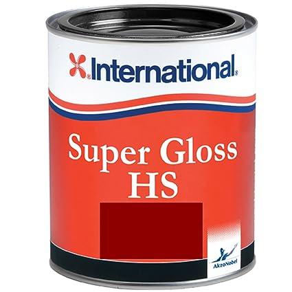 International Farben.International Super Gloss Hs 750ml 2 5l Verschiedene Farben Lighthouse Red 750ml