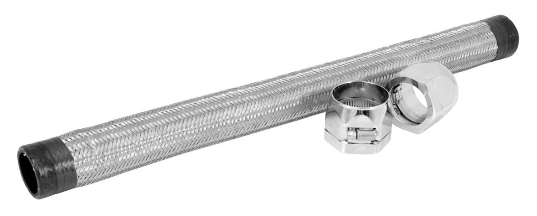 Spectre Performance (58228) 1.5'' x 22'' Chrome Stainless Steel Flex Radiator Hose