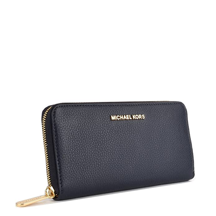 5db82a9ecd44 MICHAEL by Michael Kors Bedford Admiral Leather Continental Wallet one size  Admiral  Amazon.co.uk  Shoes   Bags