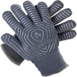Grill Armor 932°F Extreme Heat Resistant Oven Gloves - EN407 Certified BBQ Gloves