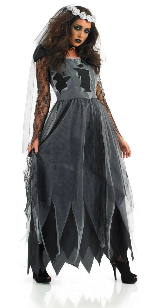 Black Corpse Bride - Adult Costume Lady: XL (UK: 20-22): Amazon.es: Juguetes y juegos