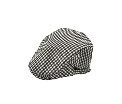 ACVIP Kids Boys Girls Checkered Flat Cap Peaked Beret Hat (Coffee)  Amazon.co.uk   Clothing 380ab0fcad35