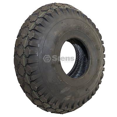 "Stens 160-300 Kenda Tire, 4.10"" x 3.50""-4"" Stud, 2-Ply: Industrial & Scientific"