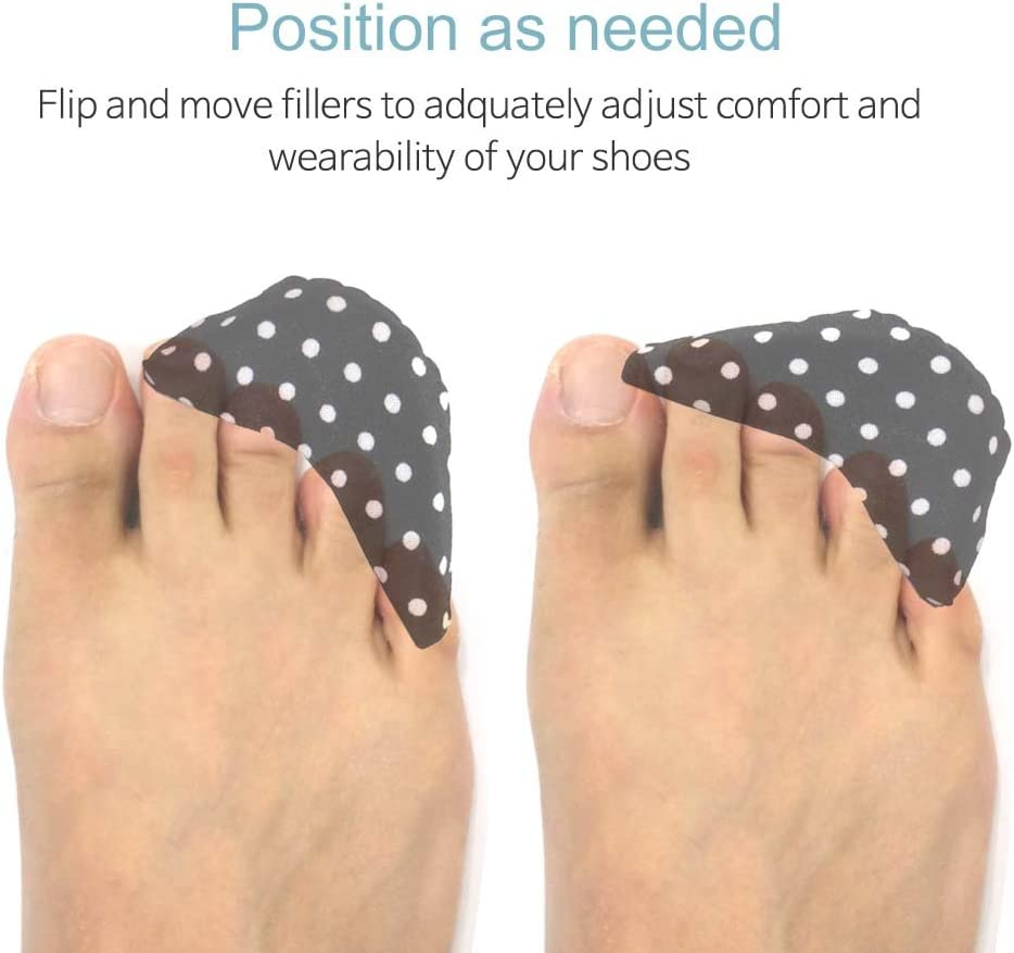 Shoeziers Shoe Fillers Sizers Inserts For Shoes That Are Too Big For men and