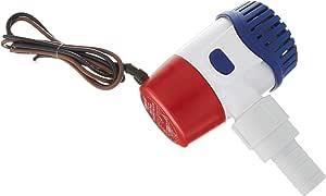 Rule Marine Bilge Pumps, Non-Automatic, Rule 24DA Standard Bilge Pump - 360 GPH, 24DA, Beige, 360 GPH