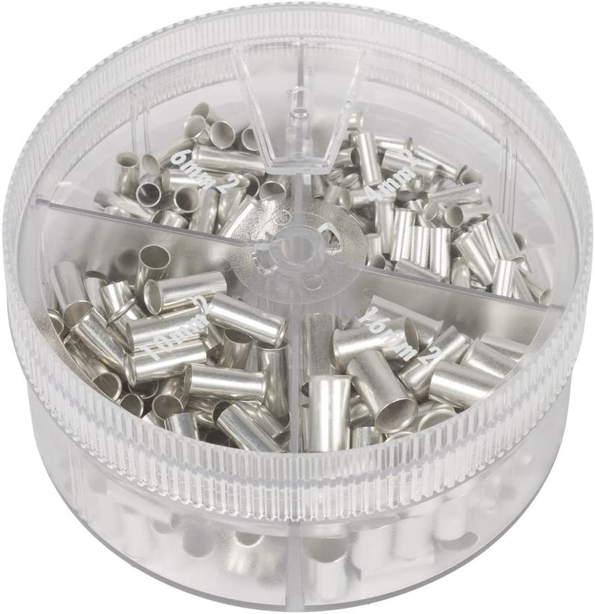 Knipex Sortimentsboxen Mit Unisolierten Aderendhülsen 97 99 911 Baumarkt