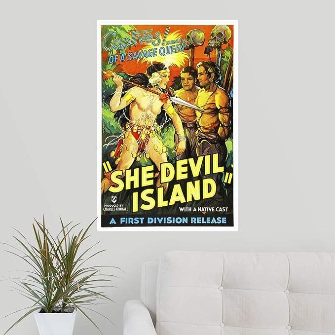 Amazon.com: CANVAS ON DEMAND She Devils Island Wall Peel ...
