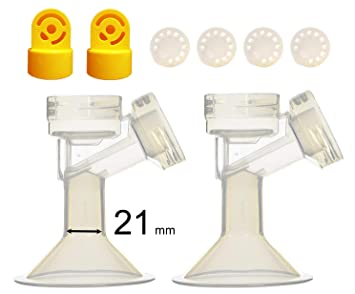 Maymom Valves and Membranes Replacement for Medela Breastpump 4 Piece Set