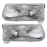 01 explorer headlight assembly - Driver and Passenger Headlights Headlamps Replacement for Ford Mercury SUV F5TZ13008B F5TZ13008A
