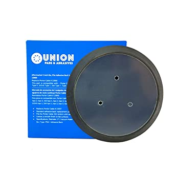5 inch Diameter PSA Adhesive Back Sander Pad with No Vacuum Holes for 332, 333