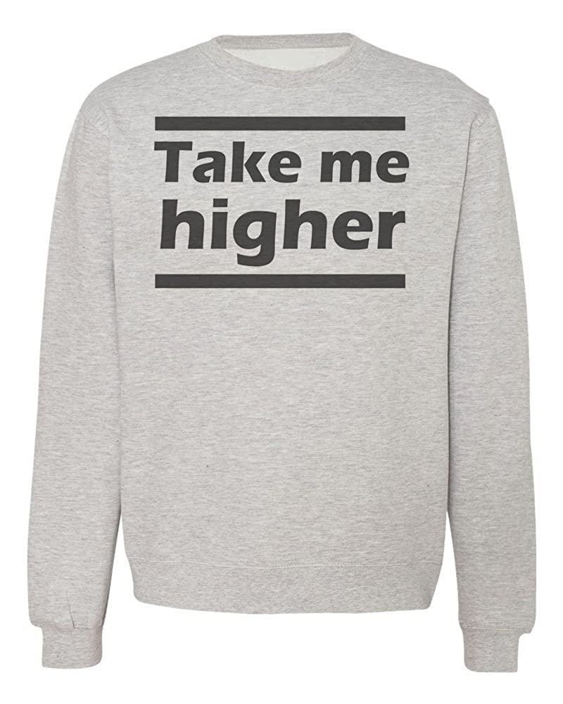 IDcommerce Take Me Higher Dreamy Mood Mens Womens Unisex Sweatshirt