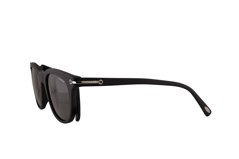 Chopard SCH192 Gafas De Sol Negro Mate Con Lentes Gris ...