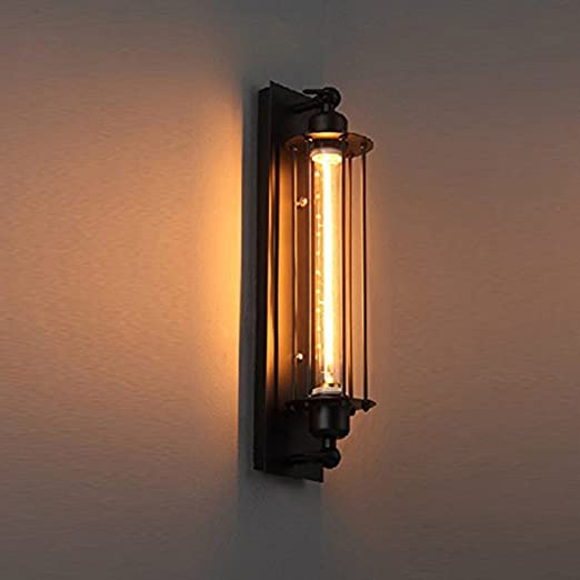 Pauwer industrial wall light edision vintage wall sconce light pauwer industrial wall light edision vintage wall sconce light fixture metal cage wall mounted besides lamps aloadofball Images