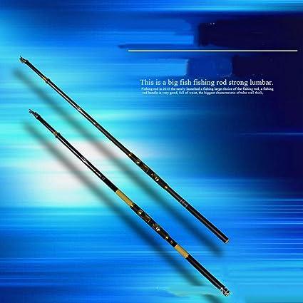 Tragbare Teleskopruten Salzwasser Angelrute Spinnrute Angelruten aus Kohlefaser