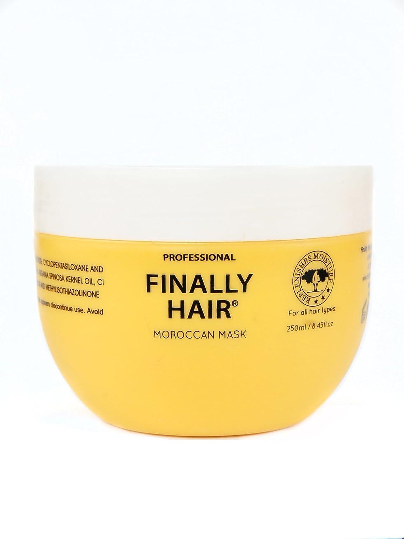 Hair Mask - Moroccan Hair Mask with Argan Oil Treatment by Finally Hair Finally Hair Corporation