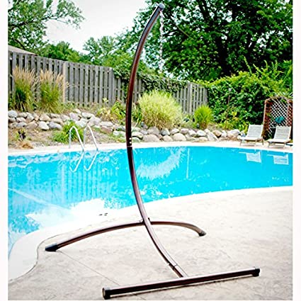Hammaka Arc Stand   Hanging Chair Stand In Bronze