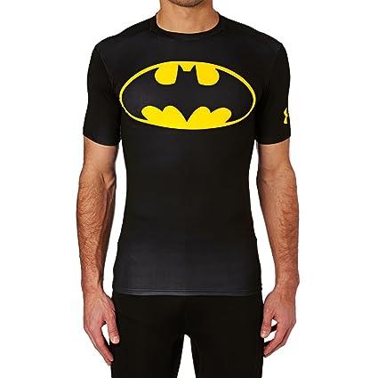 Folkekære Amazon.com: Under Armour Mens Batman Compression Shirt Black Size BD-97