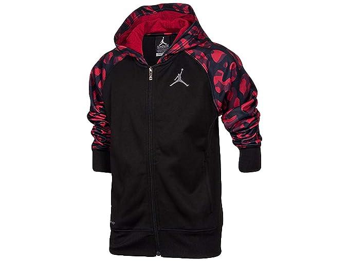 Nike Jordan AJ Camuflaje Sudadera con Capucha y Cremallera Completa para Hombre - 952933-KR5
