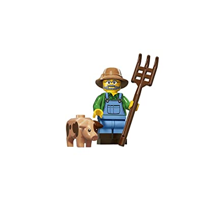 LEGO Series 15 Collectible Minifigure 71011 - Farmer: Toys & Games