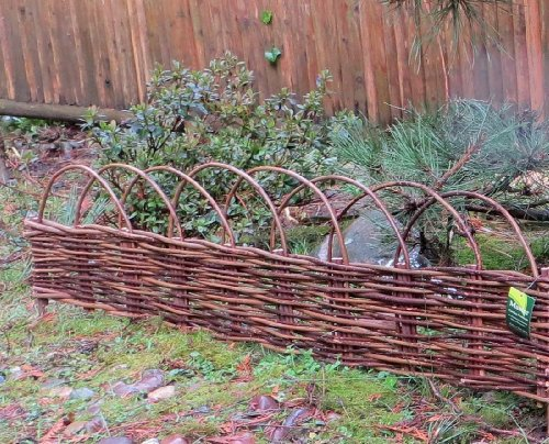 Woven Willow Edging with Arc Top, 16