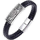 Retro PUNK Harley man Titanium Bracelet