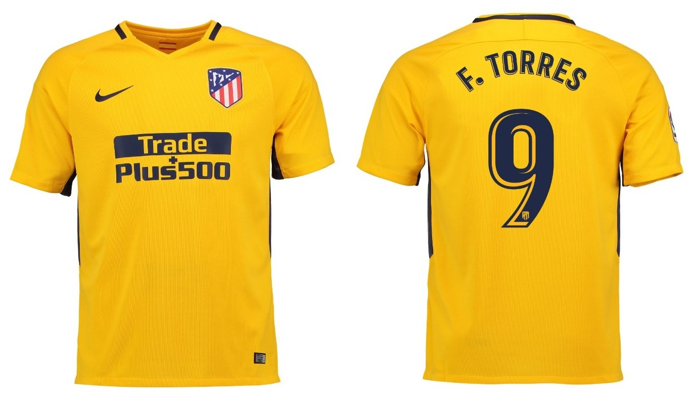 Trikot Kinder Atletico Madrid 2017-2018 Away - Torres 9