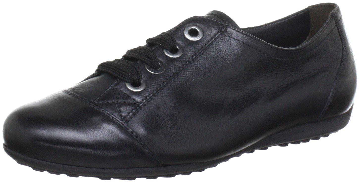 Semler Nele - Zapatos con cordones de cuero mujer 42.5 UK(8陆)|Negro - Schwarz (Schwarz 001)