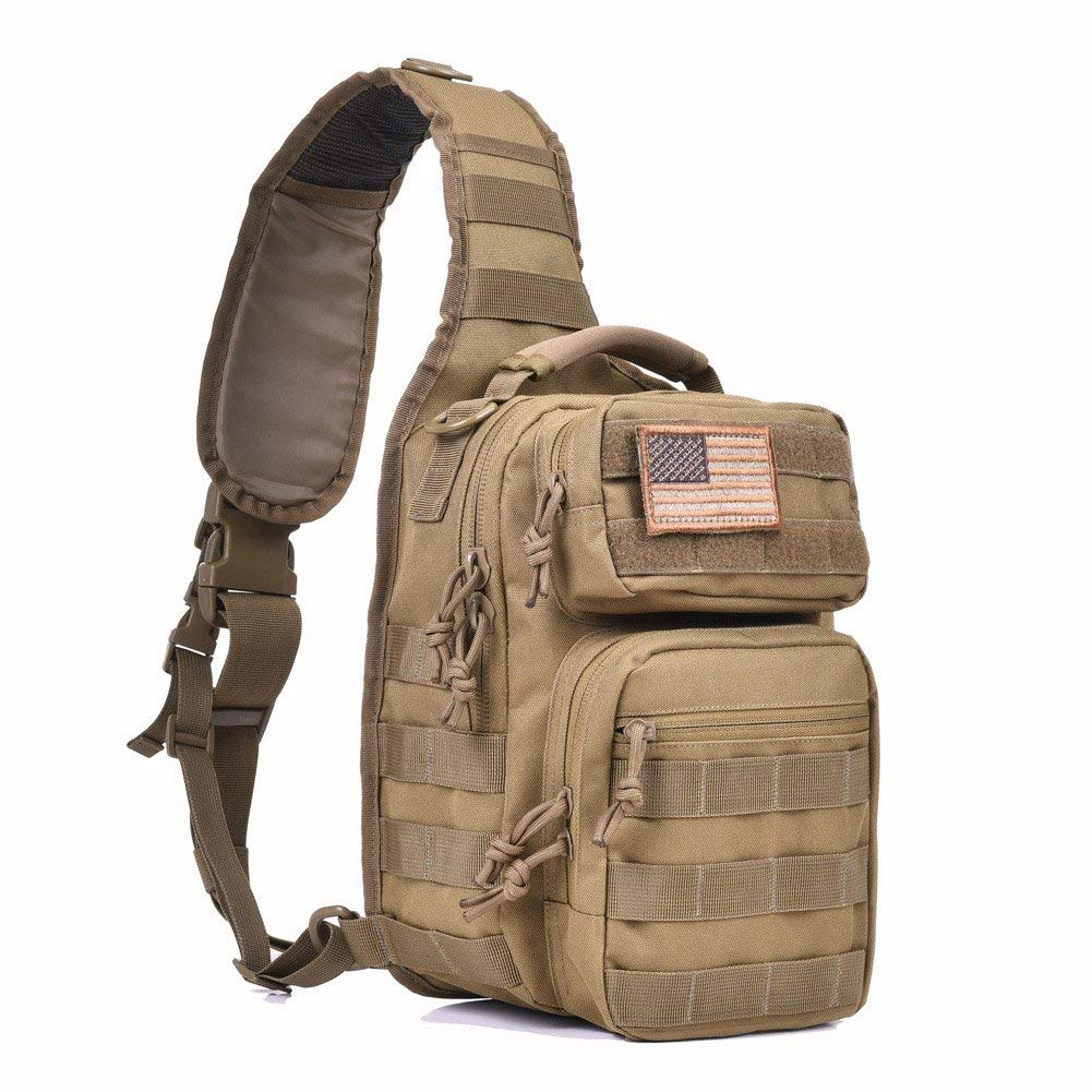 Gowara Gear Tactical Sling Backpack Edc Molle  Bag Pack Military Rover Shoulder
