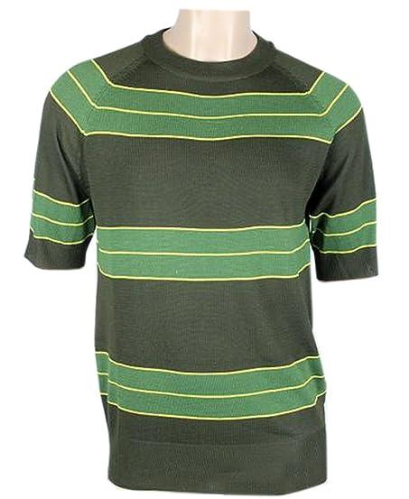 Kurt Cobain Sweater Green Striped Shirt Costume Nirvana Smells Like Teen Spirit (XL)  sc 1 st  Amazon.com & Amazon.com: Kurt Cobain Sweater Green Striped Shirt Costume Nirvana ...