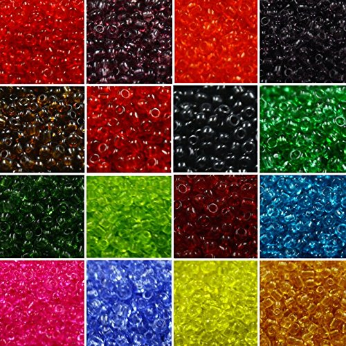 20 MIX Colors Vintage Glass SEED Beads 2mm Tiny Mini Small (Bulk Seed Beads)