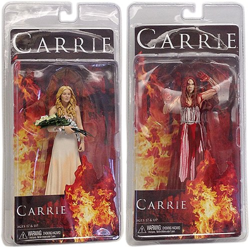 Carrie (2013) Action Figure Case Carrie bianca 17 cm (8) NECA