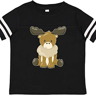 Auntie Bear Novelty Cotton T Shirt Personality Black Tee for Toddler Kids Boys Girls