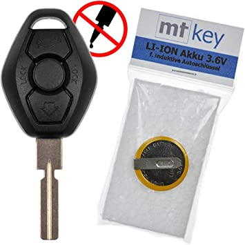 Estuche de reemplazo para el Control Remoto de la Radio del Auto BMW Control + 3