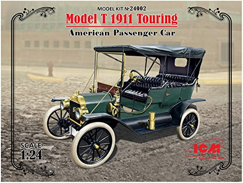 Kit Car Touring (ICM Models Model T 1911 Touring American Passenger Car Model Kit)