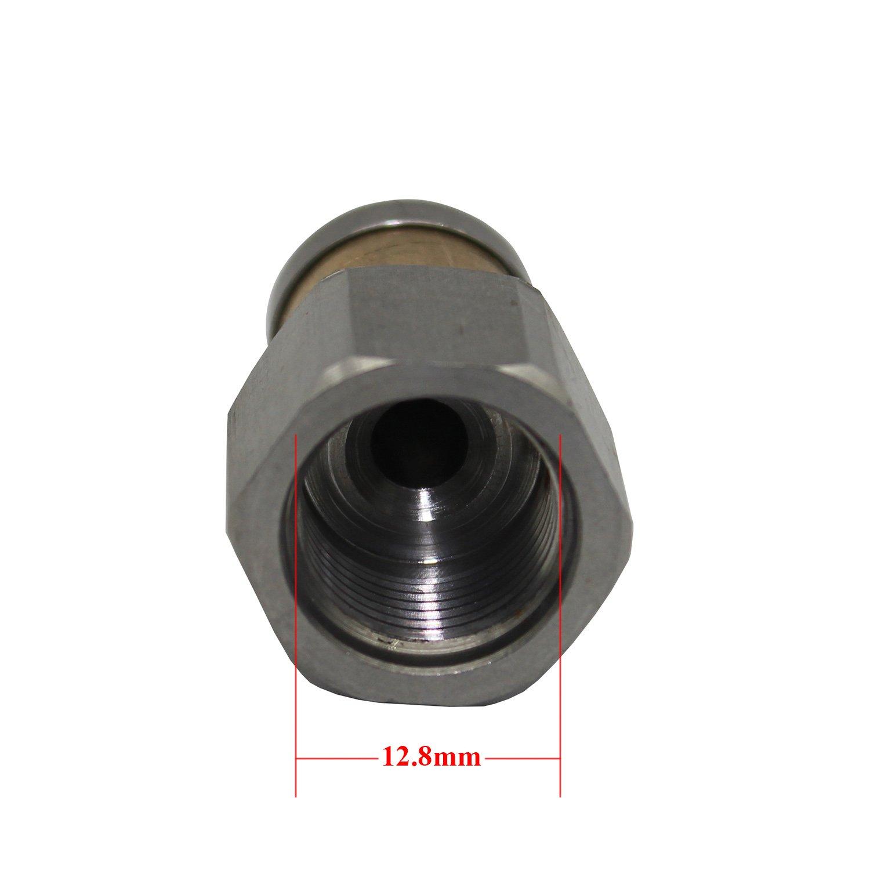 3//8 zoll Rohrreinigungsd/üse rotierende 1//8 1//4 3//8 zoll 250 bar rohrreinigungsd/üse rotierend kanalreiniger d/üse f/ür Hochdruckreiniger Rohrreiniger Rohrreinigung