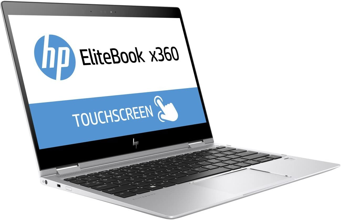 "HP 2UE40UT#ABA Elitebook X360 1020 G2 12.5"" Flip Design Notebook, Windows, Intel Core I5 2.6 Ghz, 8 GB Ram, 256 GB SSD, Silver"