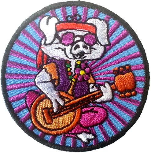 Klicnow Hippe Pig Embroidered Patch 5CM (2