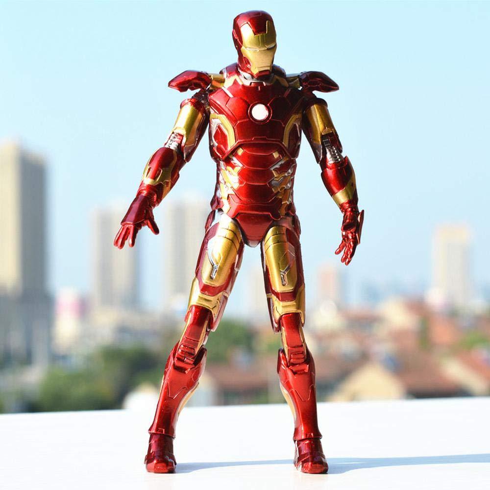 B Anime model Rächer 4 Iron Man Rüstung Modell Spielzeug, Gemeinsame Bewegliche Modell Handspielzeug Puppe Zubehör, Geburtstagsgeschenk - 18cm B