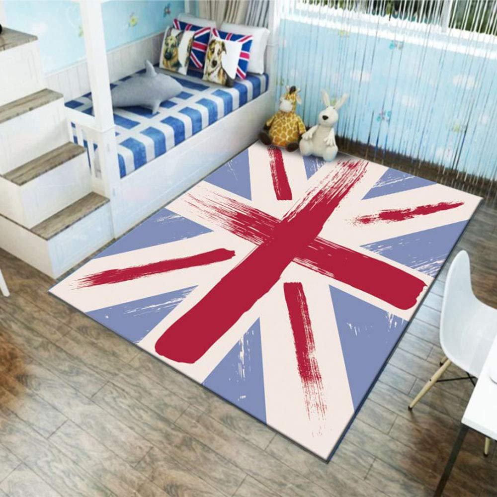 minoristas en línea C WMWZ Alfombrilla Alfombrilla Alfombrilla de Juego Extra Grande para niños, alfombras para bebés, Seguridad de Doble Cara alfombras de Piso de plástico Impermeable para niños Infantes,D,160x120cm 120x80cm  ventas en linea