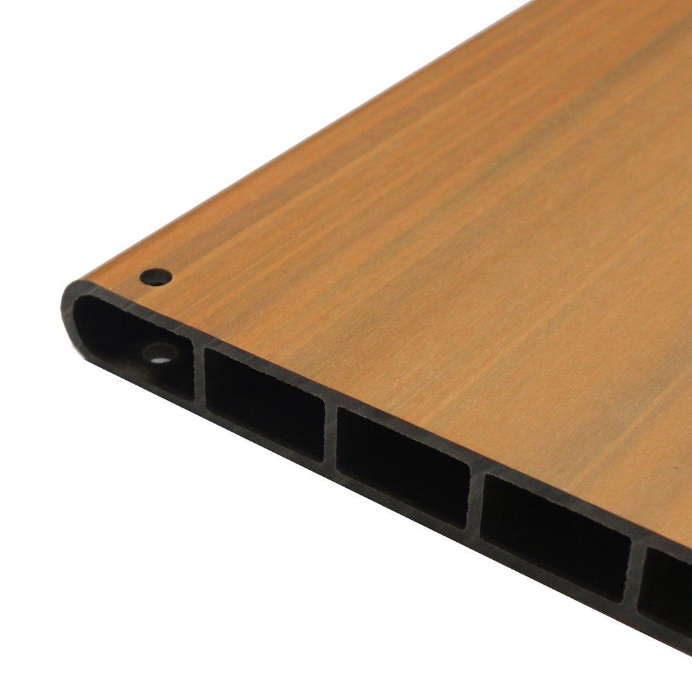 NewTechWood DAF PB-1X3 Deck-A-Floor Composite Plastic Planter Box, 14.4 x 43.2-Inch, Peruvian Teak by NewTechWood (Image #3)