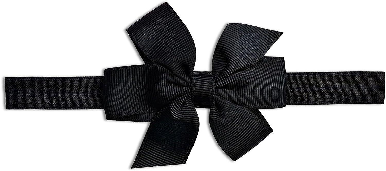 SOBOWO Black Baby Girls Lace Dress Bodysuit with Headband