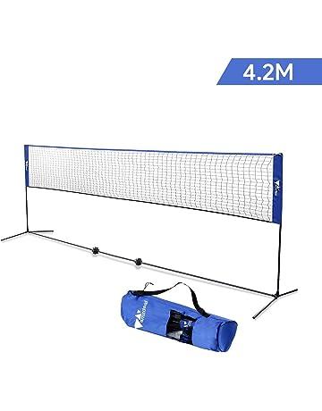d0dc0c858bde9 amzdeal 4,2m Filet de Badminton/Tennis, Réglable en Hauteur 1,5m