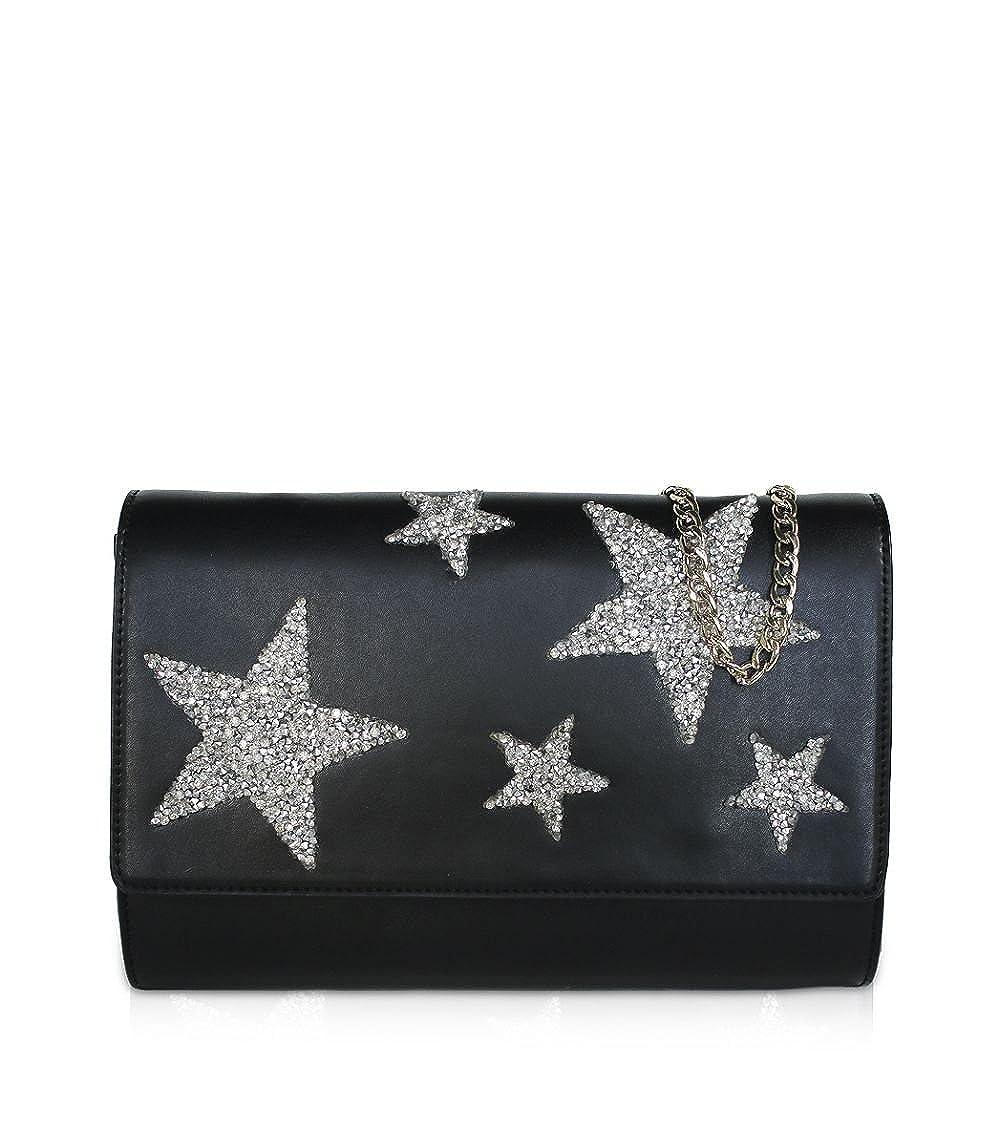 Women/'s Top-Handle Bag 7x18x24 cm Black Starlite Shop Bolso de mano Shiny Stars W x H L
