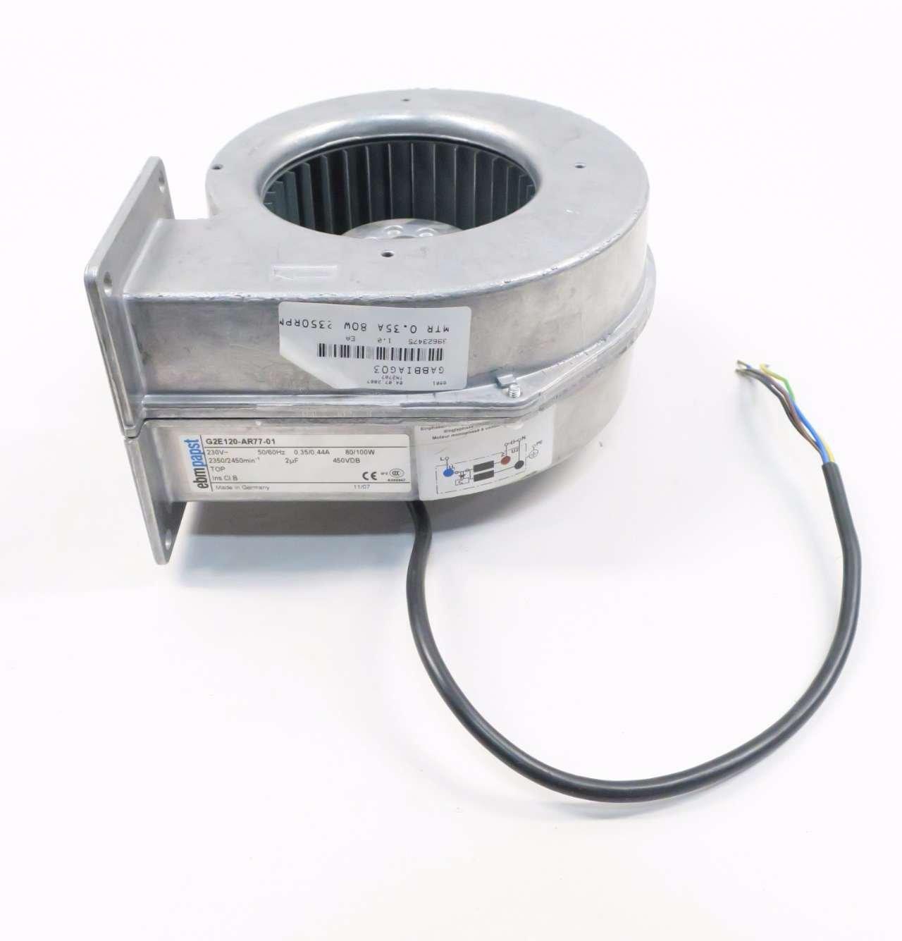EBM Papst G2E120-AR77-01 Industrie Ventilateur en aluminium 230 V