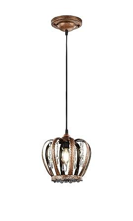 corona cm en Lámpara Ø20 Decorativa una forma de colgante T3KFcl1J