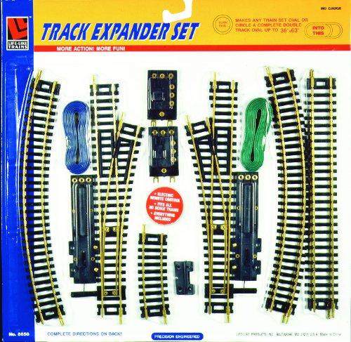 Life-Like Trains HO Scale Conventional Track - Track Expander Set