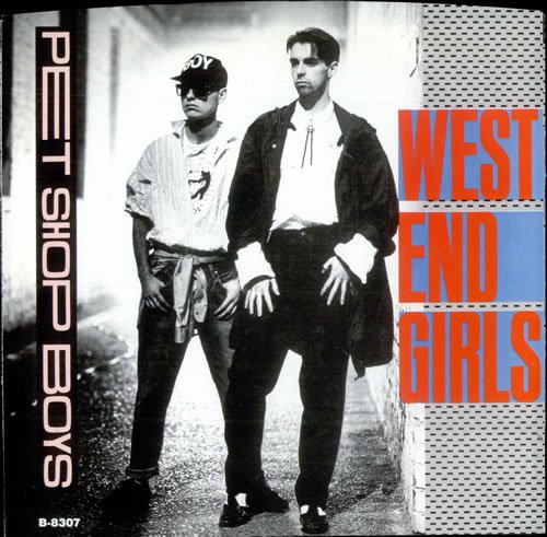 West End Girls: (Dance Mix) 6:31 / (Dub Version) 9:31 / A Man Could Get Arrested 4:50 [ 12 inch VINYL Maxi-single ]