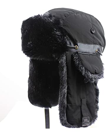 592923e4087 Outfly Ushanka Trapper Russia Hunting Hat Faux Fur Cap Earflap Winter