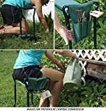 Ohuhu Garden Kneeler and Seat with 2 Bonus Tool